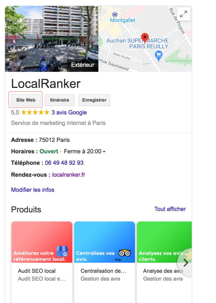 site web localranker