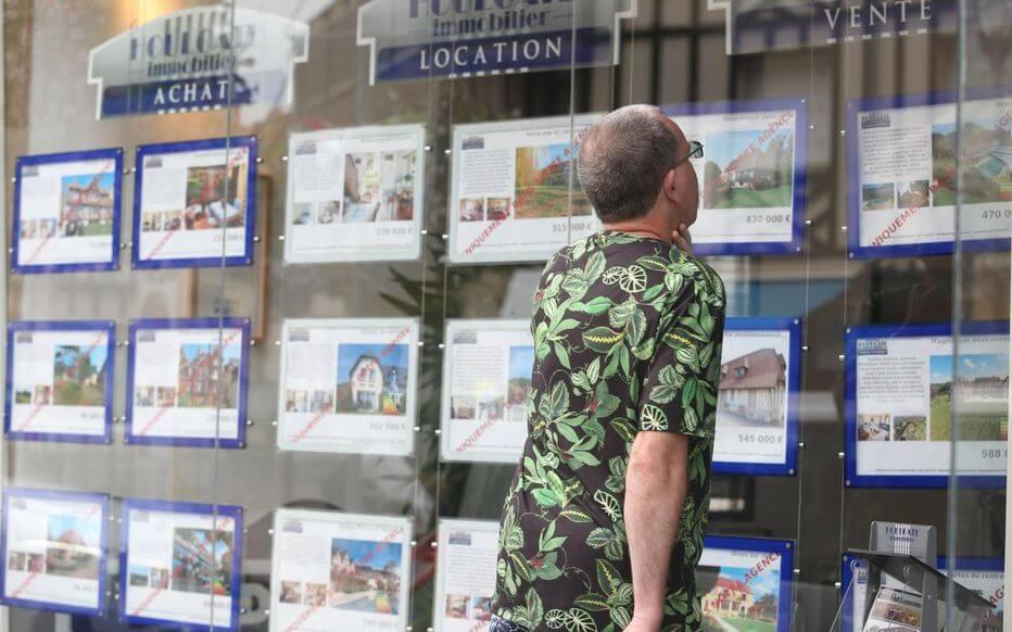 client immobilier
