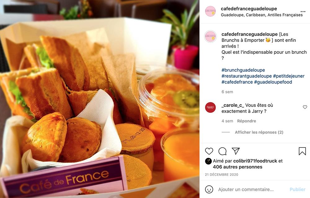 post instagram brunch