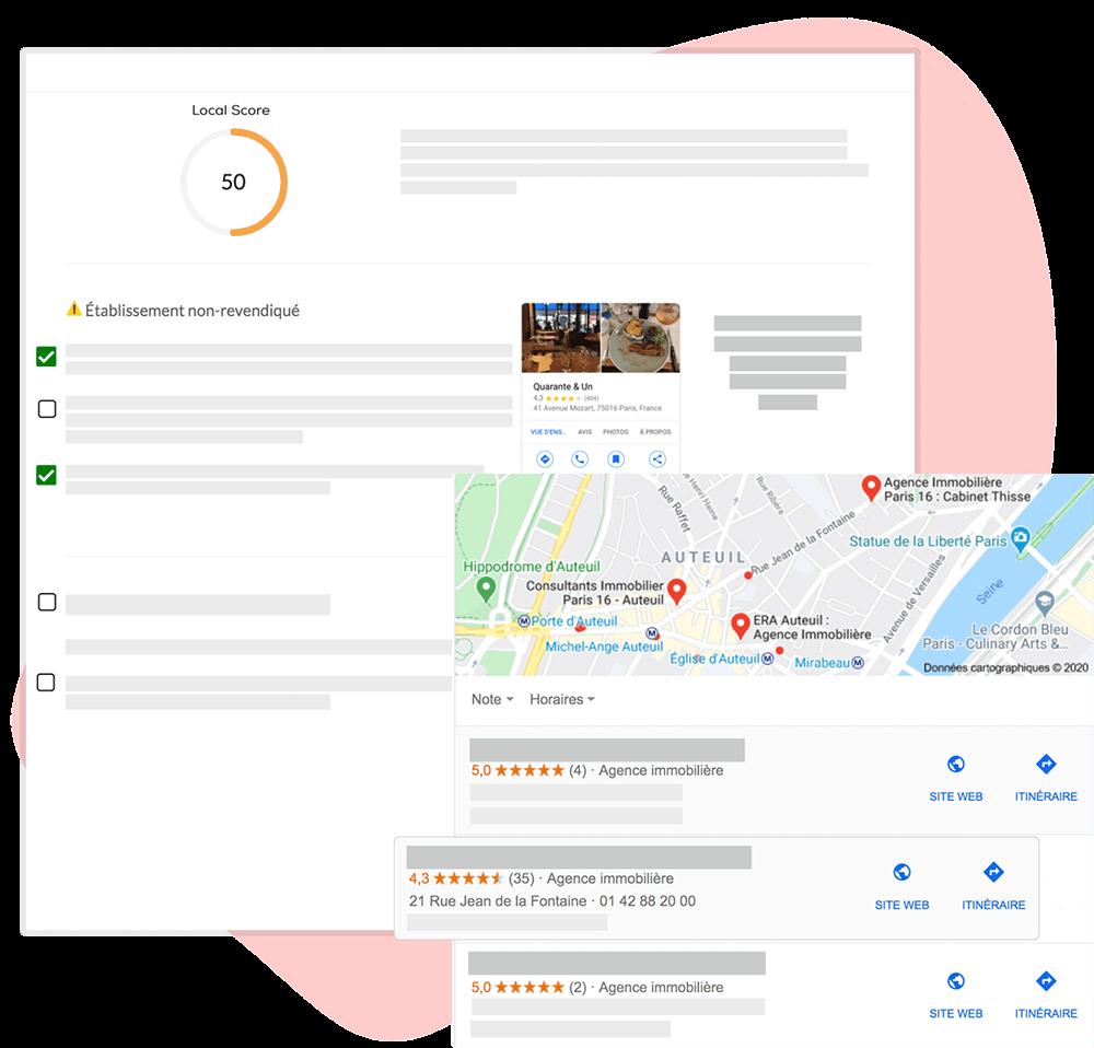 Audit SEO local Google MY Business